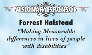 Sponsor for NDR Therapeutic Riding - Forrest Halstead Logo