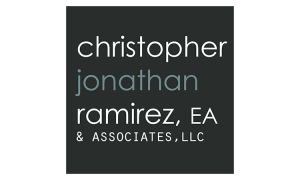Sponsor for NDR Therapeutic Riding - Christopher, Jonathan Ramirez, EA & Associates, LLC Logo