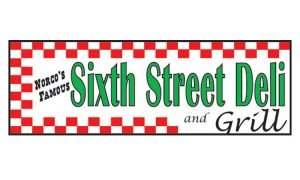 Sponsor for NDR Therapeutic Riding - Norco's Famous Sixth Street Deli Logo