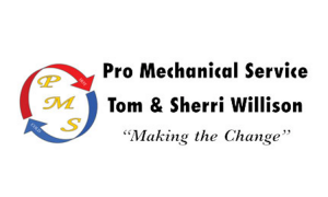 Sponsor for NDR Therapeutic Riding - Pro Mechanical Service Logo