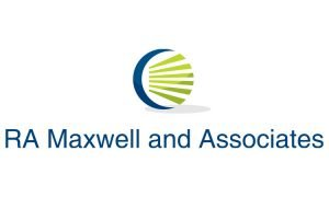 image: Sponsor for NDR Therapeutic Riding -RA Maxwell and Associates Logo